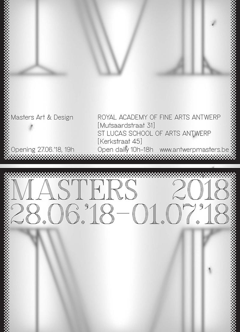 Affiche Masters 2018